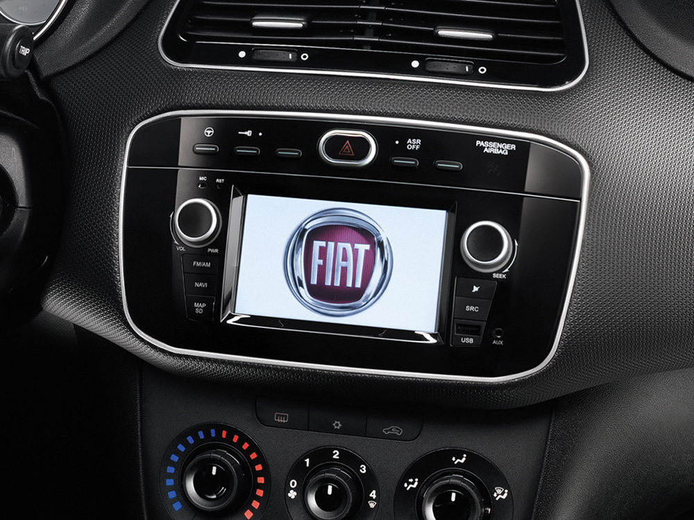 fiat punto multimedia and navigation unit daiichi. Black Bedroom Furniture Sets. Home Design Ideas