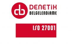 DAIICHI Elektronik ISO 27001 Sertifikasını Aldı.